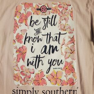 Simply Southern short sleeve Tshirt size M